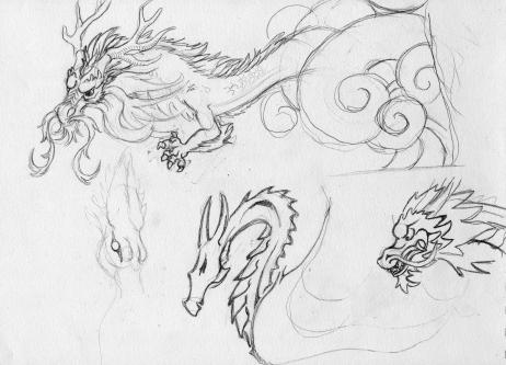 dargon-sketching